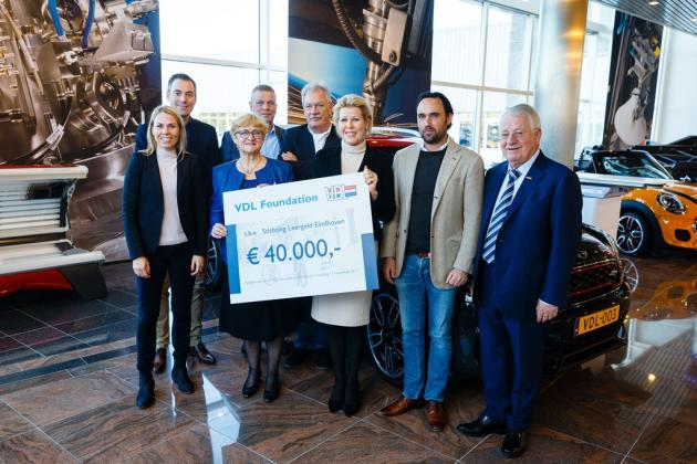 VDL Foundation supports 300 children in Eindhoven who grow up in poverty